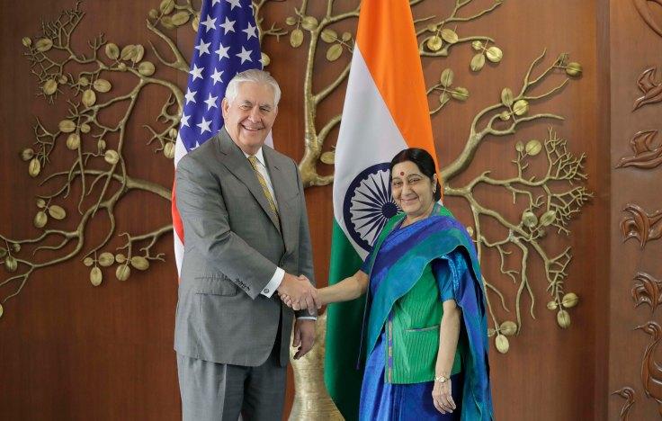 Tillerson-Swaraj Oct 25 2017 24074726498_000dbd5d14_o